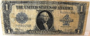 4Z: 1923 Large Funny Back Silver Certificate