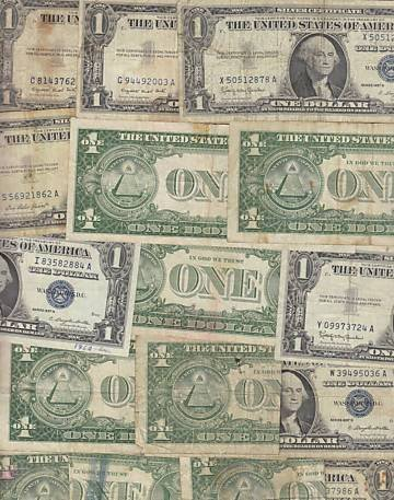 303: 100 Silver Certificates - Circulated