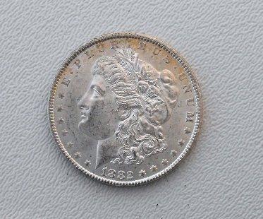 3: 1882 Carson City Key Date Morgan
