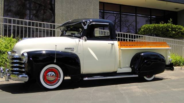 1J: 1950 Chey 3100 Pick Up Restored - NO RUST - AWESOME