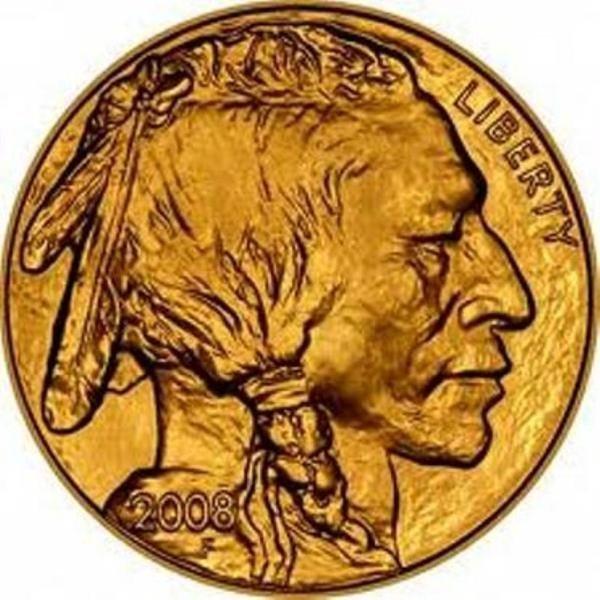 3H: 1 oz Us Gold Buffalo Bullion 24K .9999