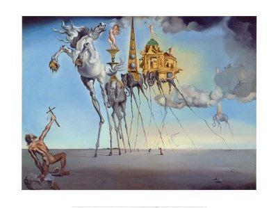 1P: Salvador Dali - Temptation of St. Anthony -
