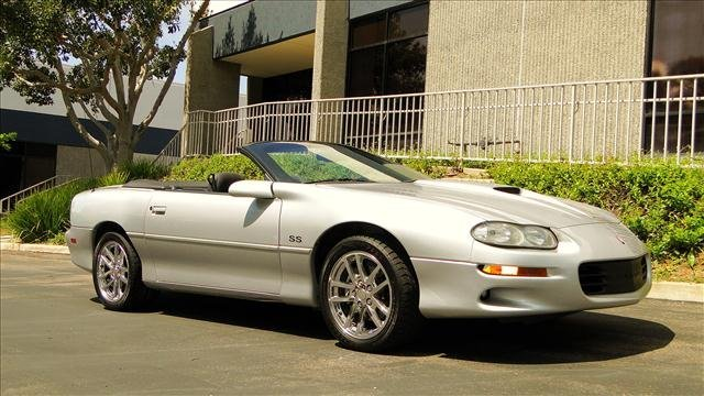 2U: 2000 Chevy Camaro z 28 SS Package Convertible