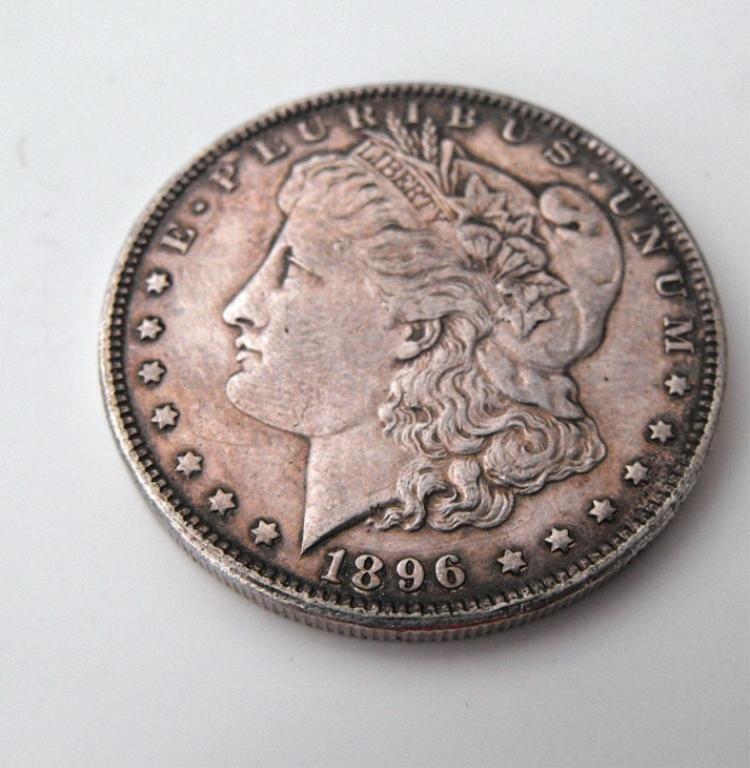 1A: 1896 P Morgan Dollar