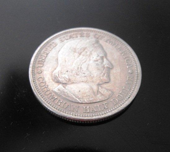 5: 1892 Columbian Expo Half Dollar