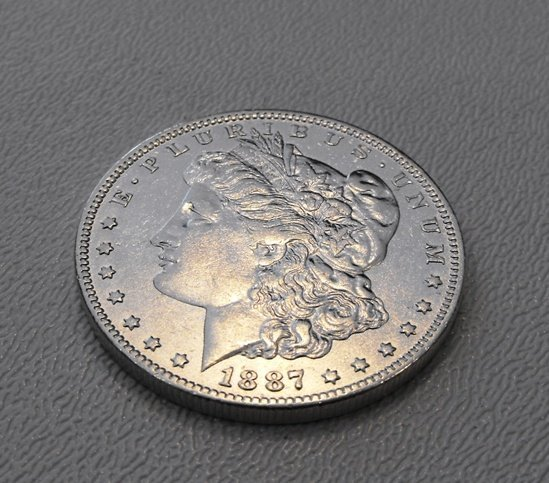 4: Better Date 1887 O Morgan Siver Dollar
