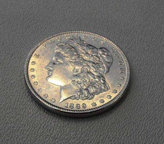 6: 1889 Morgan Silver Dollar