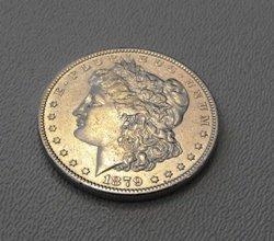 7: 1879 O Morgan Silver Dollar