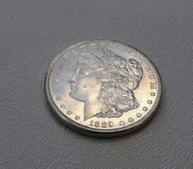 1889 P Morgan Silver Dollar