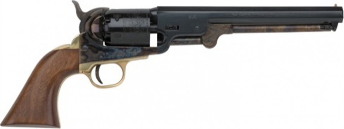 12C: 1851 Navy Model  Black Powder - .33 cal.