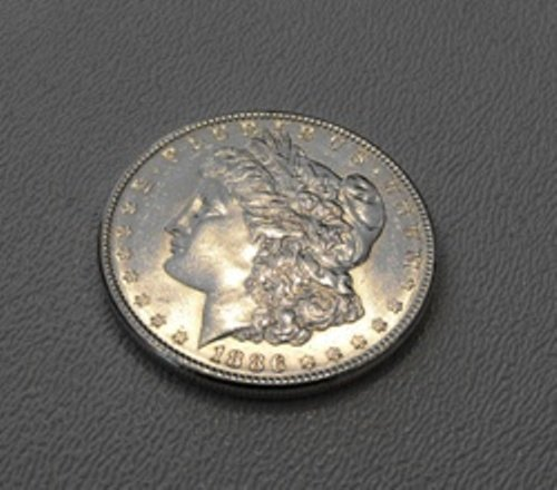 13: 1886 P Morgan Silver Dollar