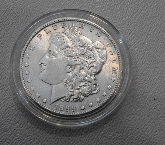 17: 1889 O Morgan Silver Dollar