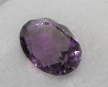 12A: A 2.5 Ct. natural Amethyst gemstone