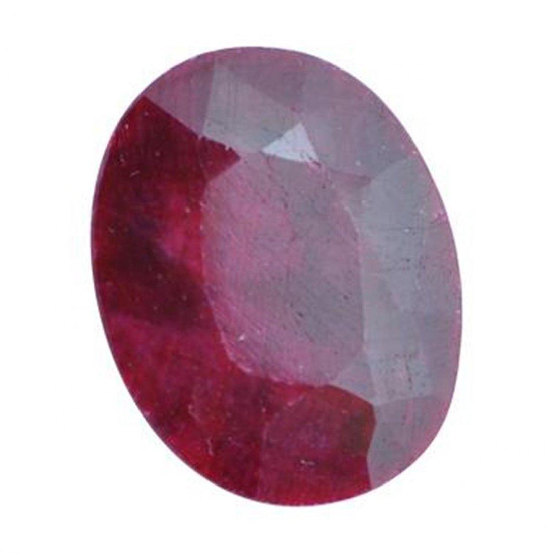 4Q: A 1 ct. Ruby Gem