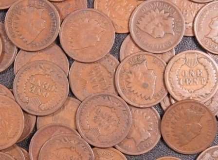 8: 100 Indian Head Cents