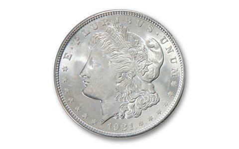 18: 1921 UNCIRCULATED Morgan SIlver Dollar