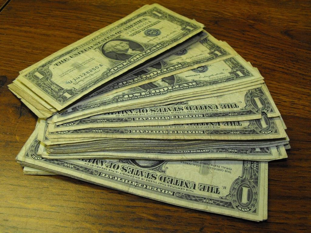 20: Lot of 20 Silver Certificates- Circulated Bills