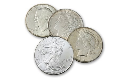 24: Lot of all (4) 20th Century Dollars- Circulated-