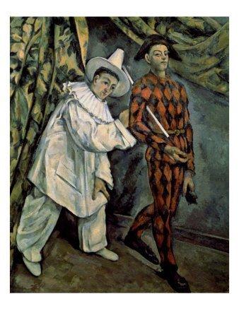 "4P: Paul Cezanne "" Mardi Gras "" Giclee"