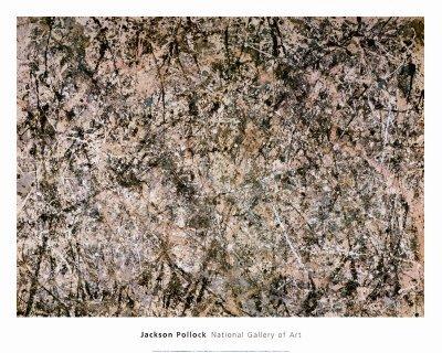 "5P: Jackson Pollock "" No. 1 Lavender Mist "" Print"