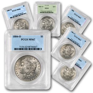 2: MS 62 PCGS Morgan Silver Dollar Random Date