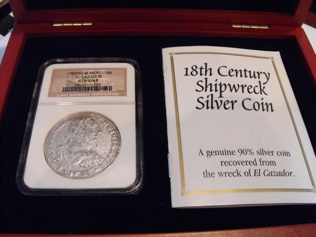 1T: 1783 8 REALES NGC Treasure $ 890 List