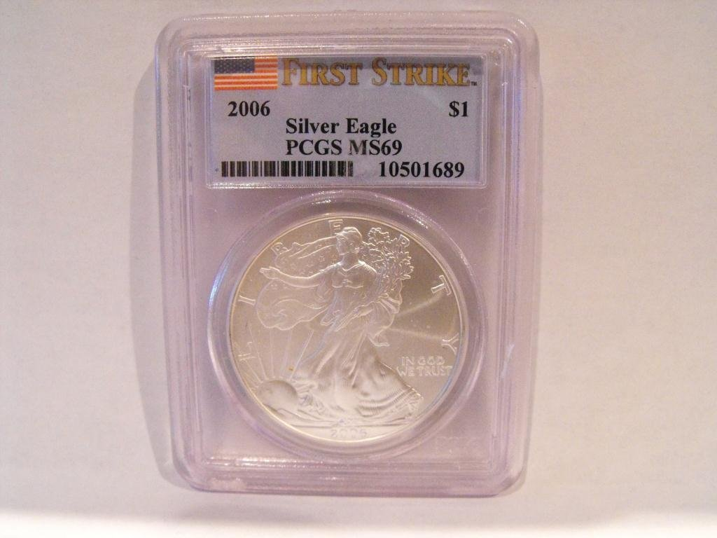 3T: 2006 MS 69 PCGS First Strikes US ASE