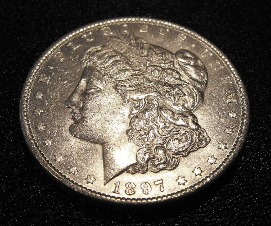 2: 1897 P Morgan SIlver Dollar