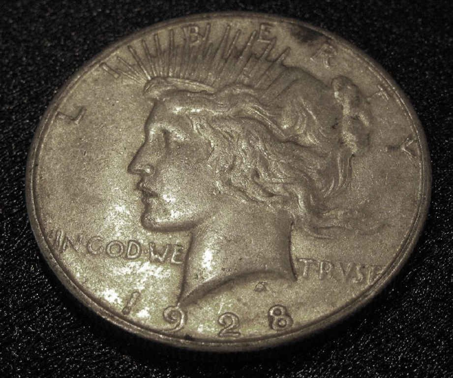 3: 1928 s KEY Date Peace Dollar