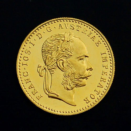 2S: 1915 1 Ducat Gold Uncirculated Coin
