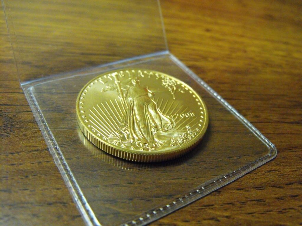 154S: 1 oz. US Gold Eagle Bullion Coin - Random
