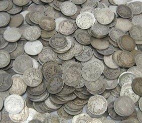 4T: Lot of 100 Morgan Silver Dollars