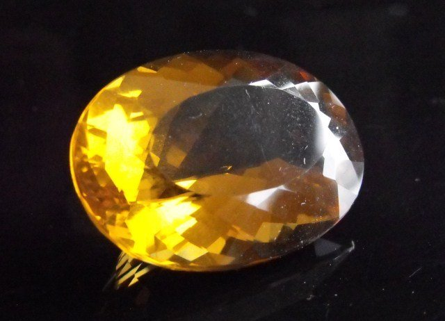 4R: RA-  55.75 ct. Oval Citrine Gemstone MSRP $1951