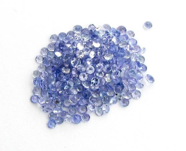 4W: 5 ctw. Natural Tanzanite Parcel