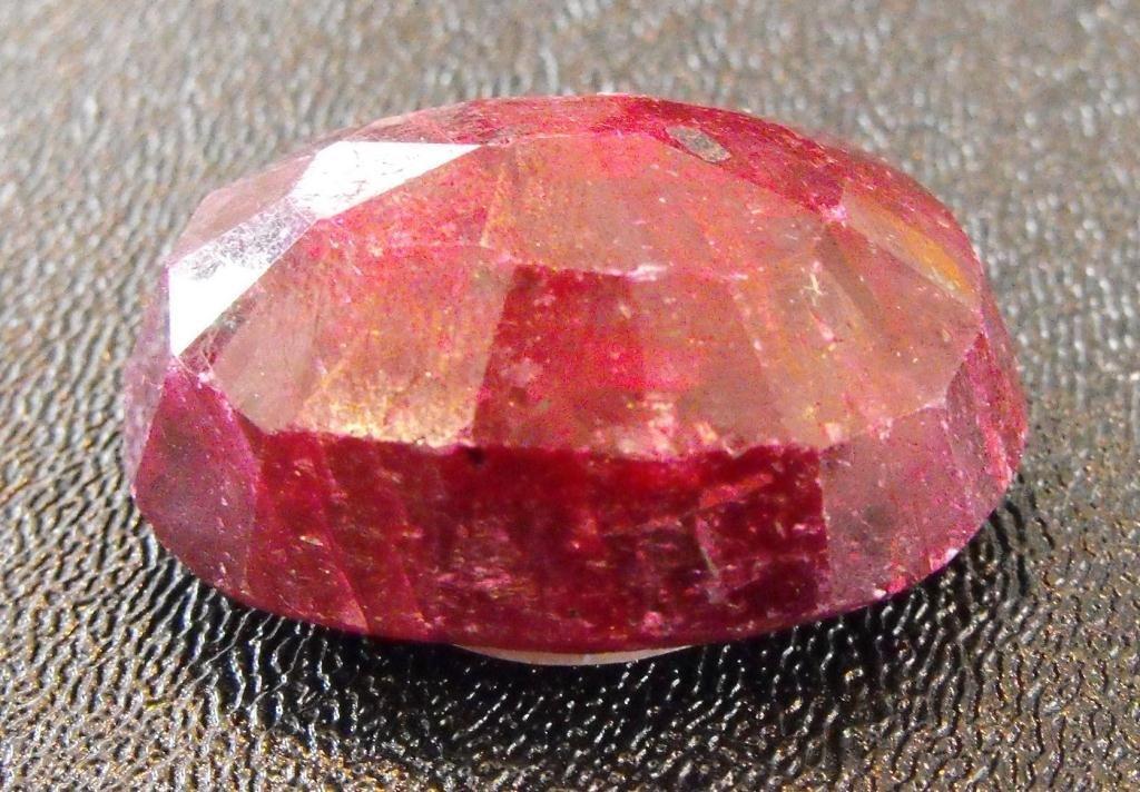 3A: 128.40 ct. Natural Ruby Gemstone