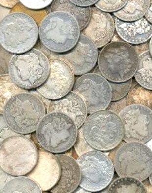 3B: Lot of (200) Morgan Silver Dollars