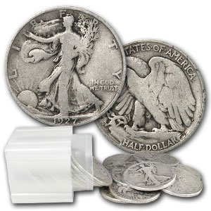 11: Lot of 20 Walking Liberty Halves 1930-40's
