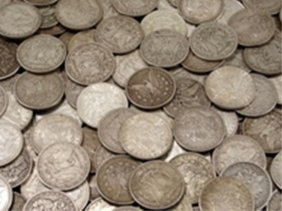 9S: Bank Bag Full of 200 Unsearched Morgans