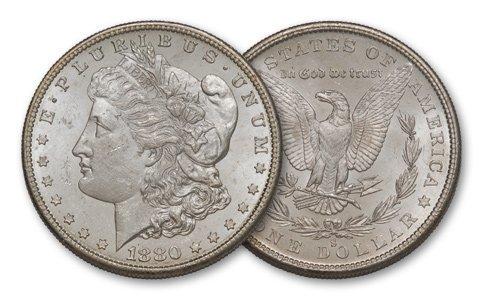 4C: 1880-s $1 Morgan BU