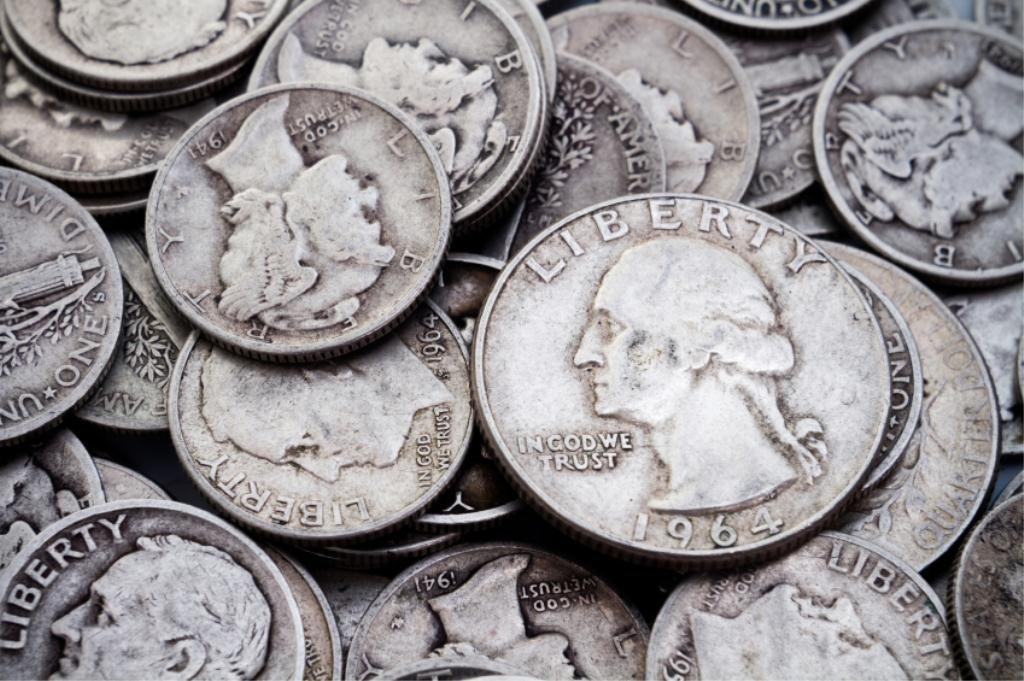 4S: $1 Face 90% Silver Coinage