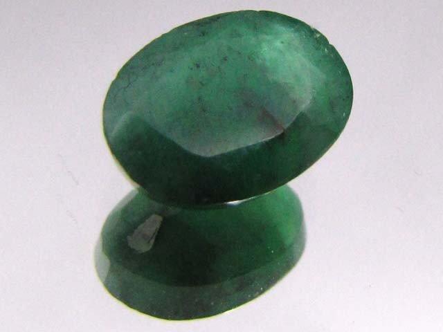 12E: 4 ct. Natural Emerald Gemstone