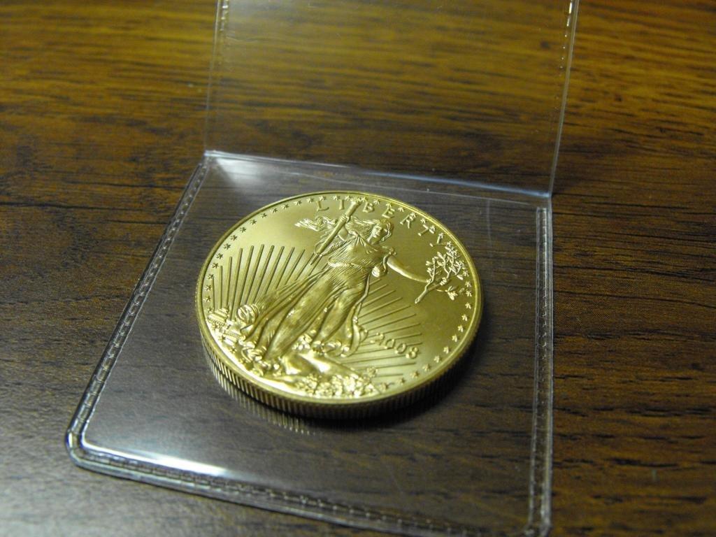 4S: 1 oz. Gold American Eagle Bullion