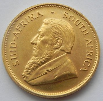 225S: 1 oz Gold Krugerrand Bullion - Pure