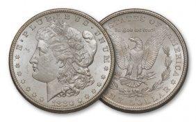 7C: 1880-s $1 Morgan BU