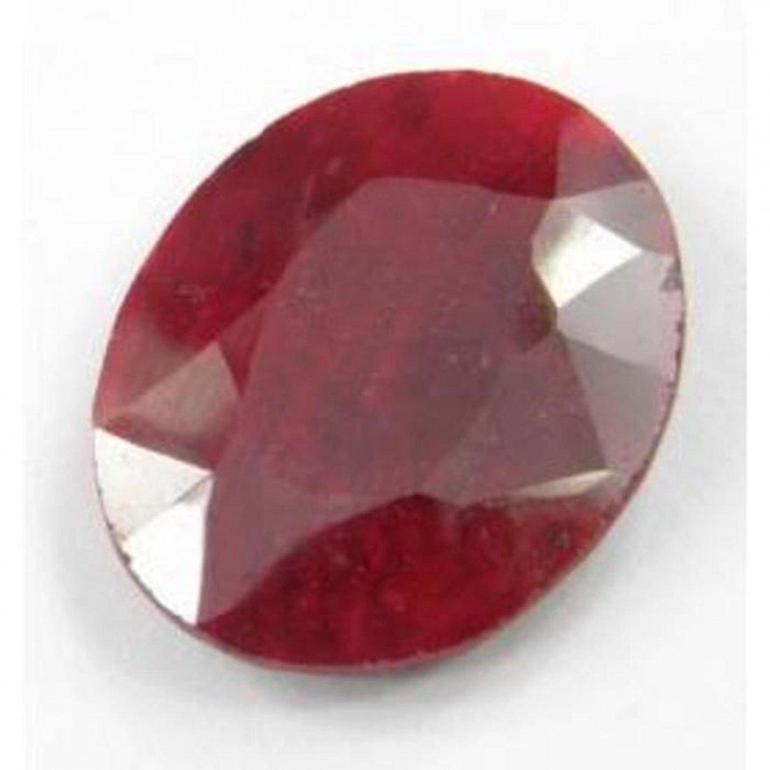 9Q: A 3 ct. Ruby Gemstone