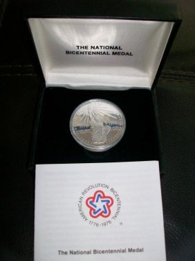 1R: RA-1976 Bicentennial US MINT Silver Medal