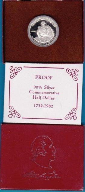 2R: RA-1986 Proof Washington 90% Silver Half Dollar
