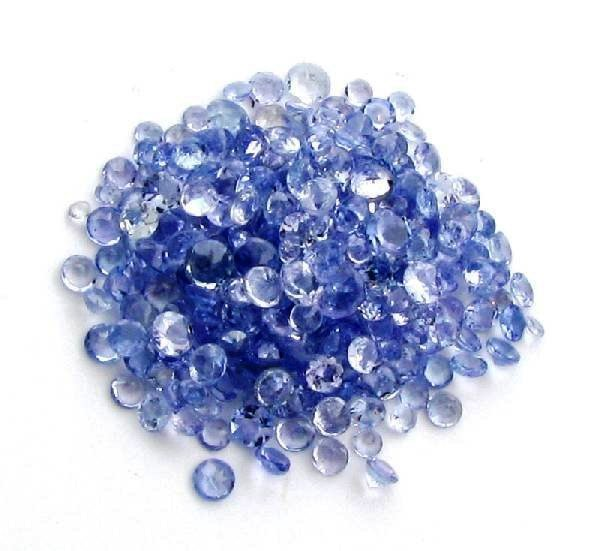 1W: 5 tcw. Natural Tanzanite Parcel