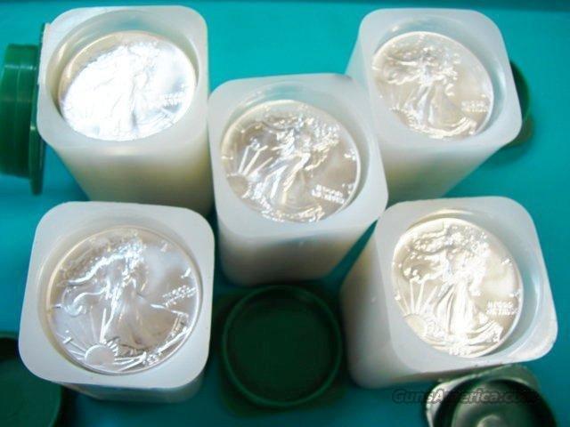 (100) Silver Eagles - US Mint Tubes