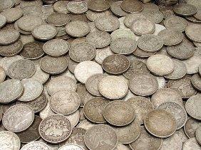 100 Morgan Silver Dollars - From Photo -